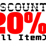 Diskon 20% All item