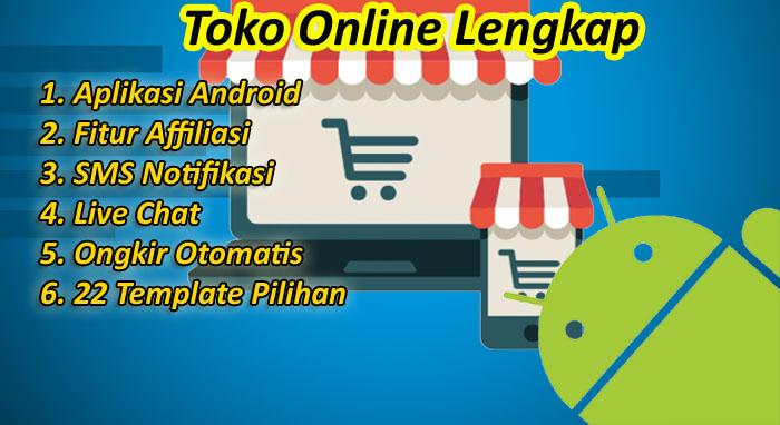 Paket website toko online