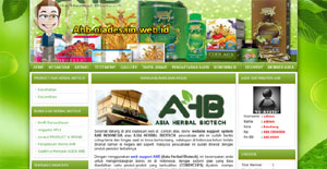 Web support AHB Indonesia (Asia Herbal Biotech)